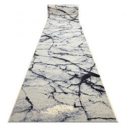 Läufer BCF BASE Stone 3988 Stein, Marmor creme / grau