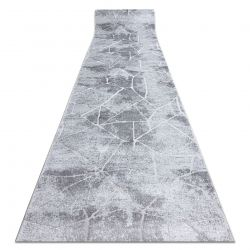 Runner Structural MEFE 2783 Marble two levels of fleece grey