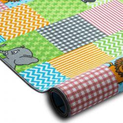 Wykładzina dywanowa dla dzieci ZOO zwierzęta, zwierzątka dziecięca