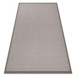 Fonott sizal szőnyeg BORDERO 2907 lapos szövött taupe / krém