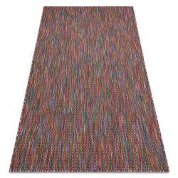 Moderní FISY koberec SISAL 20776 Cikcak, melanž růžový