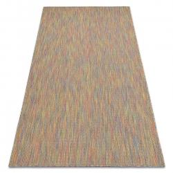 Moderní FISY koberec SISAL 20776 Cikcak, melanž, duha, duhový