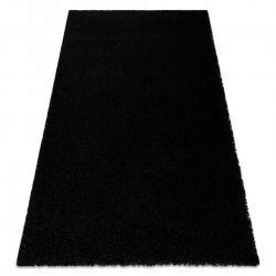 Tapis SOFFI shaggy 5cm noir