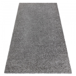 Teppich SOFFI shaggy 5cm grau
