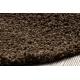 Matta SOFFI shaggy 5cm brun