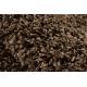 Alfombra SOFFI shaggy 5cm marrón