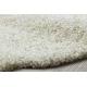 Alfombra SOFFI shaggy 5cm crema