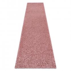 Dywan, Chodnik SOFFI shaggy 5cm różowy - do kuchni, przedpokoju, na korytarz