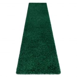 Teppich, Läufer SOFFI shaggy 5cm Flaschengrün - in die Küche, Halle, Korridor