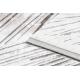 Dywan AKRYL VALS 0W1733 C56 46 Abstrakcja przestrzenny 3D kość słoniowa / beż