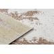 Dywan MEFE nowoczesny 8731 Rozeta vintage przecierany - Strukturalny, dwa poziomy runa beż