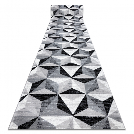 PASSADEIRA ARGENT - W6096 TRIÂNGULOS 3D cinzento / preto