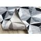 Runner ARGENT TRIANGLES 3D - W6096 grey / black