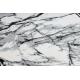 Modern Läufer TULS 51210 Marmor anthrazit