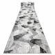 Modern runner TULS 51211 Geometric anthracite