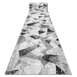 Modern TULS 51211 szőnyeg Geometriai antracit