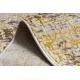 Passatoia Structural MEFE 8722 Linee vintage - due livelli di pile oro