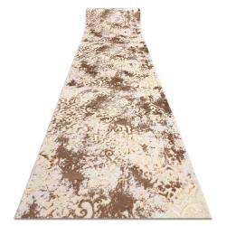 MEFE futó szőnyeg Structural 8724 Dísz vintage - két szintű gyapjú bézs / arany