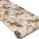 Passatoia Structural MEFE 8724 Ornamento vintage - due livelli di pile beige / oro