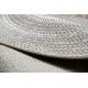 Kulatý koberec FLAT 48837686 SISAL Boho, vrkoč béžový