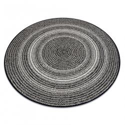 Kulatý koberec FLAT 48837690 SISAL Boho, vrkoč béžový