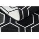 Koberec SPRING 20404993 Hexagon Sisalový, slučkový - čierna