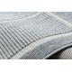 Koberec SPRING 20426332 štvorce, rám Sisalový, slučkový - sivý