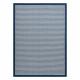 Koberec SPRING 20411994 riadky, rám Sisalový, slučkový - modrý