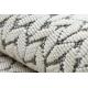 Koberec SPRING 20467332 Rybia kosť Sisalový, slučkový - krém