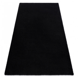Prateľný koberec MOOD 71151030 moderný - čierna