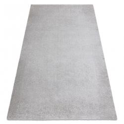 Prateľný koberec MOOD 71151600 moderný - striebro
