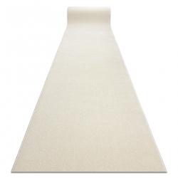 Jednotny behúň KARMEL prostý, jednofarebný biely