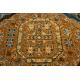 Wool carpet POLONIA Astoria oriental, cognac beige