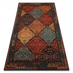 Vlnený koberec POLONIA Astoria orientálny, etnický rubín
