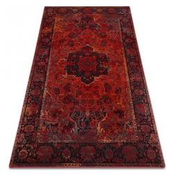 Vlnený koberec POLONIA Dukato Ornament rubín