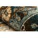 Dywan wełniany POLONIA Samari Ornament jadeit brązowy