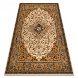 Vlnený koberec SUPERIOR PIENA Rozetă kamel