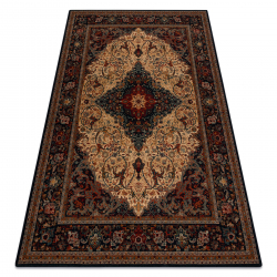 Vlnený koberec SUPERIOR PIENA Rozetă rubín