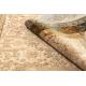 Dywan wełniany OMEGA LUMENA etno, przecierany kamel