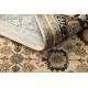 Dywan wełniany OMEGA PARILLO ramka jadeit brązowy