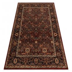 Vlnený koberec KASHQAI 4348 300 rám, orientálny vin roșu