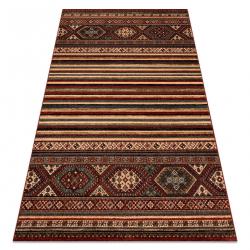 Vlnený koberec KASHQAI 4356 300 etnický vin roșu