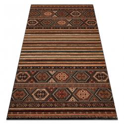 Vlnený koberec KASHQAI 4356 500 etnický terakota