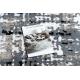 Килим POLI 8820A абстракция сив / бежов