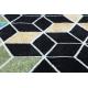 Килим POLI 9139A куб 3D черно / син