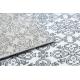 Dywan ARGENT - W4949 Kwiaty biały / szary