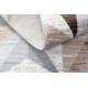 Carpet ARGENT - W6096 Triangles beige / grey