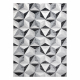 Carpet ARGENT - W6096 Triangles grey / black