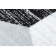 Argent szőnyeg - W6096 Háromszögek szürke / fekete