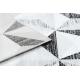 Tapete ARGENT - W6096 Triângulos cinzento / preto